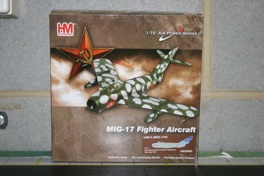 Hobby Master 1:72 Polish Air Force MIG-17 WSK-Mielec Lim-5 Fresco C  HA5905