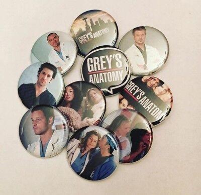 Grey/'s Anatomy Pinback Buttons