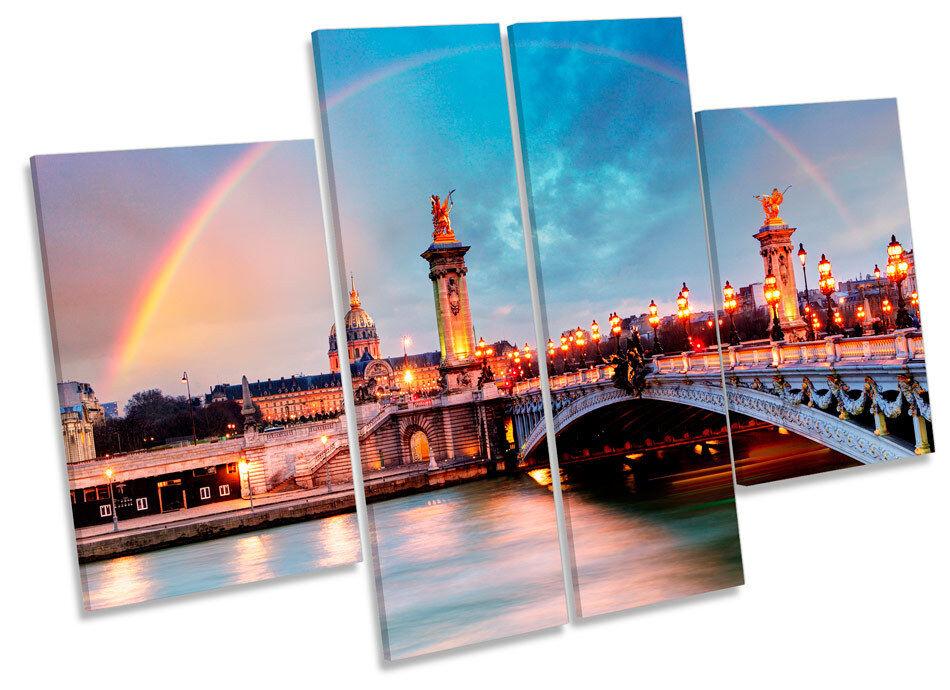 PARIS PARIS PARIS LE PONT ALEXANDRE III art. a muro Ponte Multi pannello foto stampa 4112c0