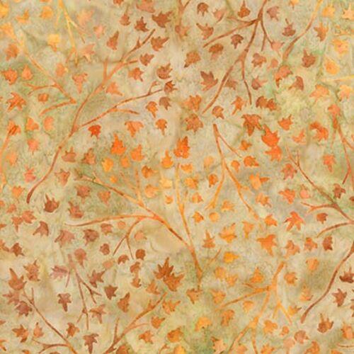Robert Kaufman Batik Fabric Quilting AMD-16829-148 PUMPKIN By The Half Yard