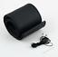 COUVRE-VOLANT-UNIVERSEL-respirant-PU-cuir-noir-pour-voiture miniature 3