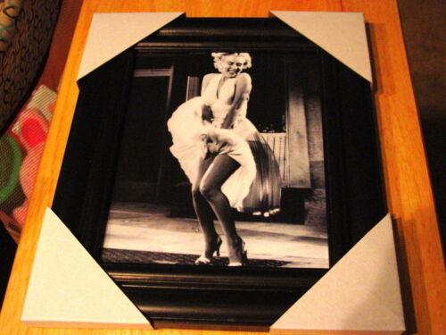 BLACK FRAME MARILYN MONROE 11X13 MDF FRAMED PICTURE POSTER #3