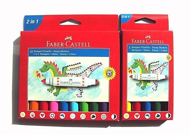 Faber Castell Stempel - Filzstifte