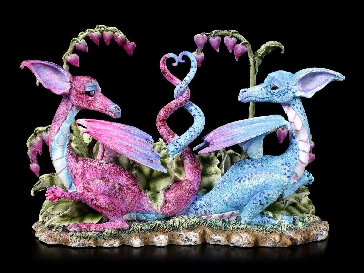 Statuetta Drago - Loving Dragons di Amy braun - Fantasy Amanti Drachenhochzeit