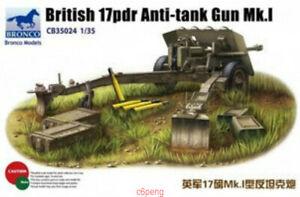 Bronco-1-35-35024-British-17-pdr-Anti-Tank-Gun-Mk-I-Hot