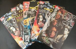 X-FILES-3-4-5-2-Annual-amp-2-Special-Edition-1995-TOPPS-Comics-F-Book