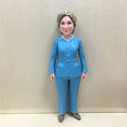 Hillary Clinton Ready For Action Figure Loose Toy Rare