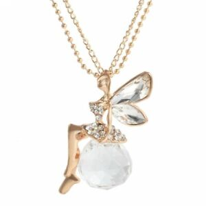 Gorgeous-Women-Crystal-Gold-Fairy-Angel-Wing-Pendant-Long-Chain-Necklace-Jewelry