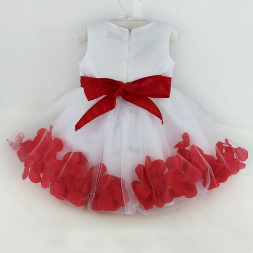Baby Flower Girl Dress Party Wedding Birthday Princess Formal Christening Dress