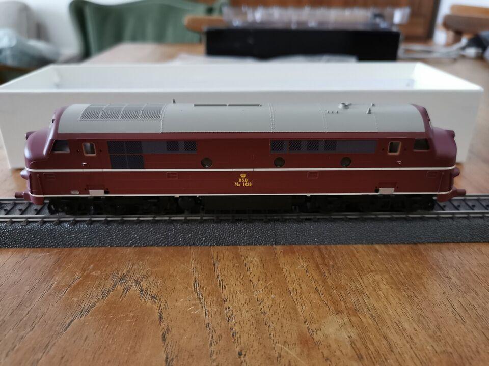 Modeltog, DH/Heljan MX 1039, skala H0