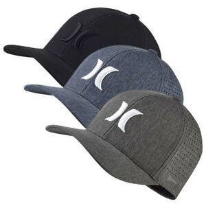 c9e36a8a1 Details about HURLEY Phantom Vapor 4.0 Flexfit hat cap beanie stretch fit  surf flex Hawaii