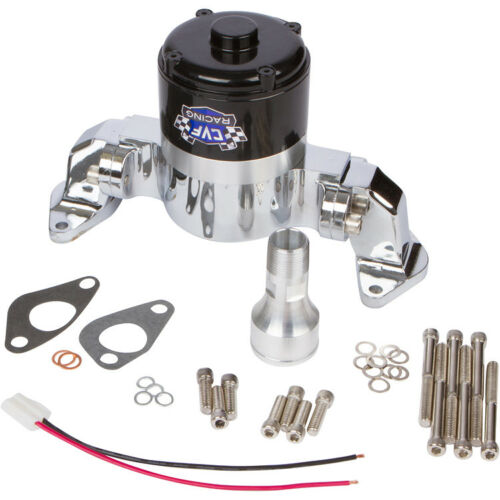 351C Ford Electric Water Pump Small Block Chrome High Volume Flow Cleveland