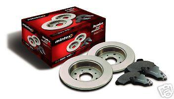 ALFA ROMEO 155 1.8TS 2.0 BRAKE DISCS PADS MINTEX FRONT
