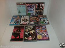 10 x Spiele / Games für Sony PSP (Invizimals, Killzone, Need for Speed, u.v.m)