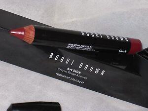 nib led bobbi brown art stick for cheek lip cassis 6 ebay