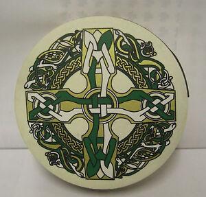 IRELAND-MUSIC-Irish-18-034-Celtic-Cross-Bodhran-Drum-Beater-DVD-4Items
