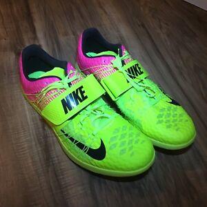 d7957f280861 Nike Zoom TJ Elite Track Triple Jump Track Shoes Spikes Men Size 14 ...