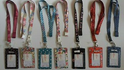 Cath Kidston Cordino E Id Badge Holder-mostra Il Titolo Originale