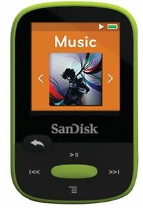 SanDisk-Clip-Sport-8GB-MP3-Player-Lime-With-LCD-Screen-and-MicroSDHC-Card-Slot