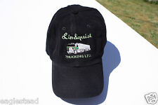 Ball Cap Hat - Lindquist Trucking - Langley  BC Tractor Trailer (H1123)