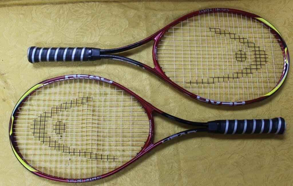 Set Paire de Tête Ti. Flash raquettes de tennis Art  232295
