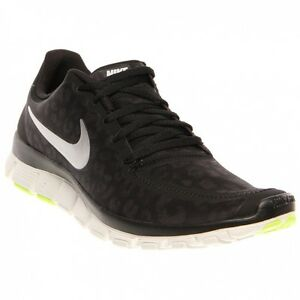 35d70942571d Nike WOMENS NIKE FREE 5.0 V4 Black Mtllc Silver-Anthracite-Volt ...