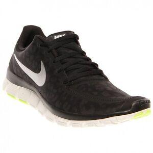 Nike WOMENS NIKE FREE 5.0 V4 Black Mtllc Silver-Anthracite-Volt ... 4cf2e0fcaf7b