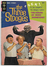 The Three Stooges #24 (Gold Key 1965 fn+ 6.5) worth $23 (£18.00) in this grade