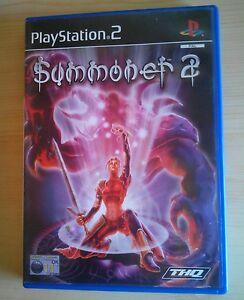 SUMMONER-2-Playstation-2-PS2-ottime-condizioni-completo