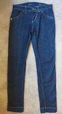 Women's Miss Sixty High Binky Jeans Size 28 Blue Dark Wash