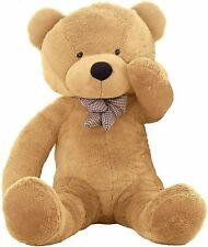 "WOWMAX® Giant Teddy Bear Birthday Gift 47"" Light Brown"