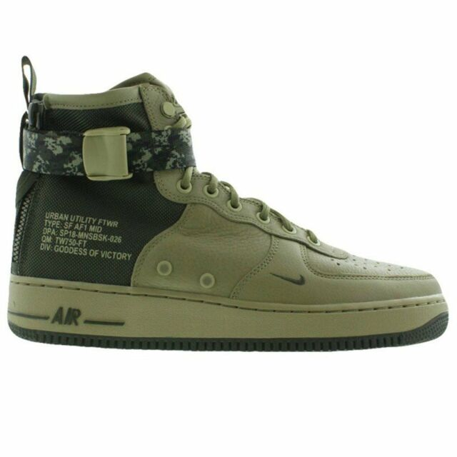 2b2f1456ee16d Nike SF Air Force 1 Mid Men s Shoes Size 9.5 917753 201 for sale ...