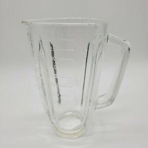 Vintage-Sears-Insta-Blend-14-Speed-Blender-Glass-Jar-Part-Triangle-Top-Model-400