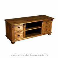 tv schrank hifi m bel tv unterschrank phonoschrank holz landhausstil nussbaum ebay. Black Bedroom Furniture Sets. Home Design Ideas