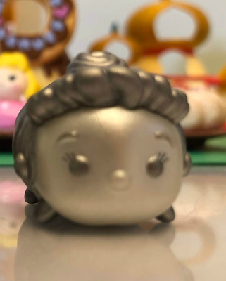 Disney Tsum Tsum Vinyl Figure SILVER BLAST Cinderella Medium ULTRA SUPER LUCKY!