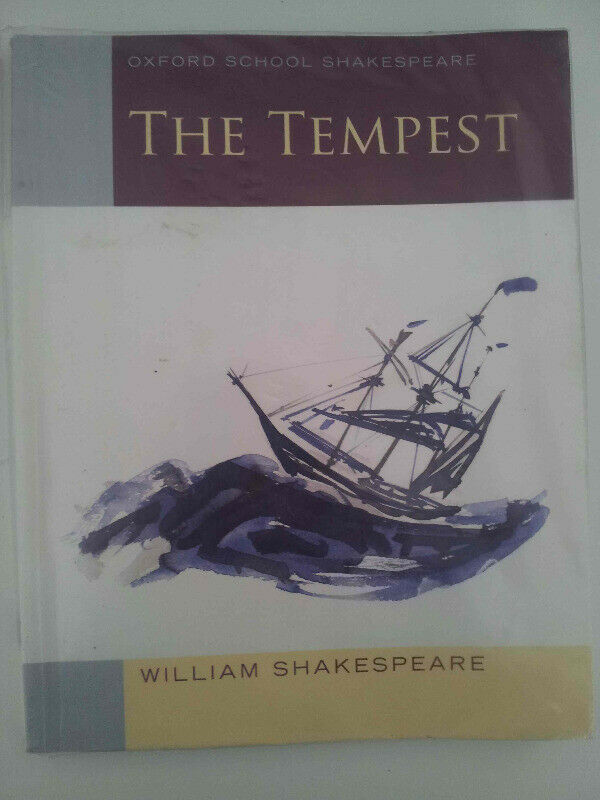 The Tempest - William Shakespeare - Student's Guide - Great condition!