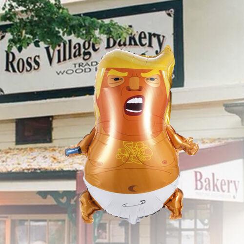22x17inch Trump Baby Balloon Unique Funny Donald Trump Balloon Party Decoration