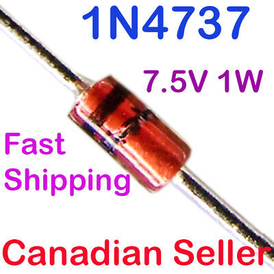 DO-204AL Axial Diodes 1 Watt 39 Volt 20PCS 1N4754A 1N4754 Silicon Planar Power Zener Diode 1W 39V DO-41