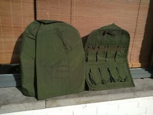 US ARMY HIGHBACK SEAT COVER SET GREEN COLOR ISOGROUP HMMWV HUMVEE HUMMER