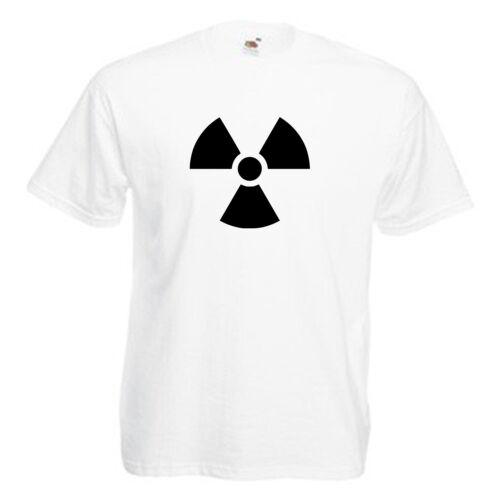 Radioactive Toxic Children/'s Kids Childs T Shirt
