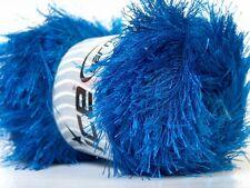 LG 100 gram Royal Blue Eyelash Yarn #22734 Ice Fun Fur 164 Yards