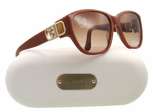 NEW-Chloe-Sunglasses-CL-2242-Toffee-Brown-C03-CL2242-58mm