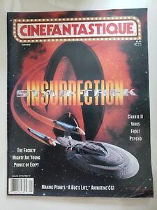 CINEFANTASTIQUE-Magazine-January-1999-STAR-TREK-INSURRECTION-PIXARS-A-BUGS-LIFE