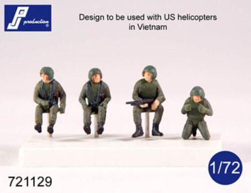 1//72 PJ PRODUCTION US HELICOPTER CREW VIETNAM WAR