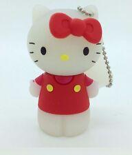 Hello Kitty 8GB USB 2.0 Flash Pen Drive Tarjeta de Memoria Niños y Niñas Nuevo 8 GB