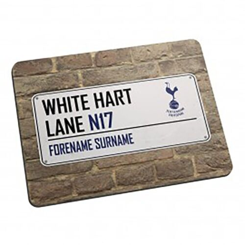 Personalised Mouse Mat Tottenham Hotspur F.C STREET SIGN