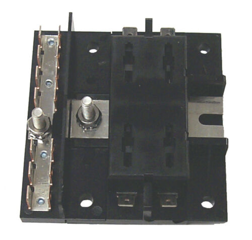"New Ato//atc Fuse Block sierra Fs40430 4 Gang ATO//ATC Neg Bus Yes 3-1//2/"" x 3-1//4/"""