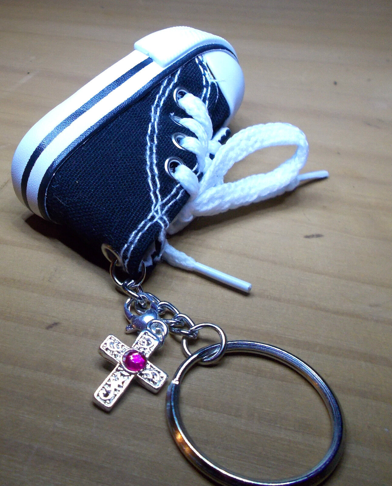 Keychain Trainers Linen Shoes Trainers - Either With Jewellery Pendant