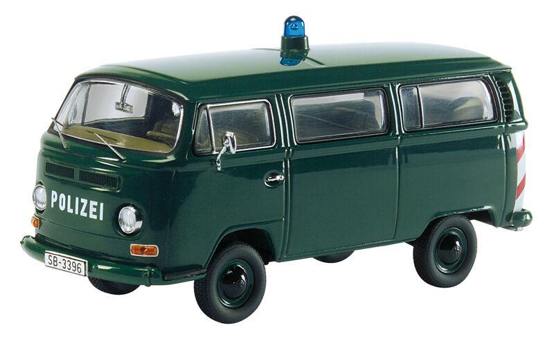 VW Bus T2a Polizei 1 43 03222 Schuco
