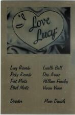 I Love Lucy Full Cast Autograph (Plus Director Marc Daniels)